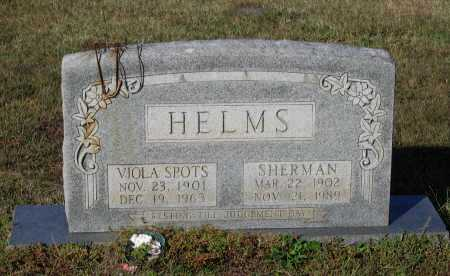 HELMS, SHERMAN - Lawrence County, Arkansas | SHERMAN HELMS - Arkansas Gravestone Photos