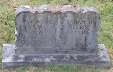 COWEN HELMS, SARAH J. - Lawrence County, Arkansas | SARAH J. COWEN HELMS - Arkansas Gravestone Photos