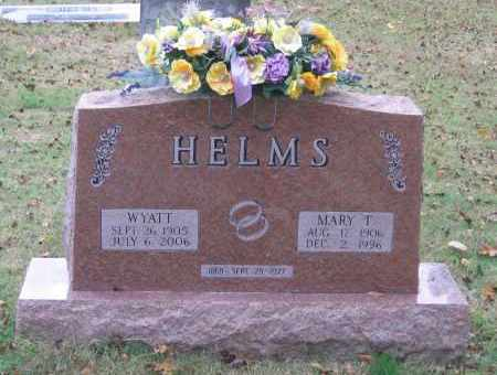 HELMS, WYATT H. - Lawrence County, Arkansas | WYATT H. HELMS - Arkansas Gravestone Photos