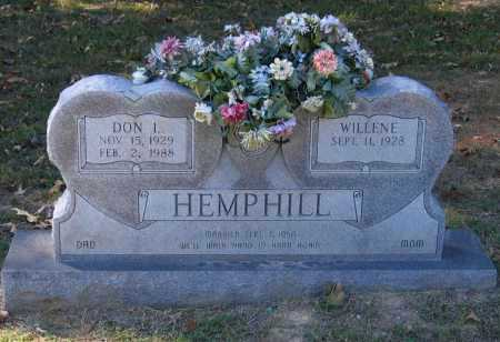 "HEMPHILL, DONALD LEE ""DON"" - Lawrence County, Arkansas 