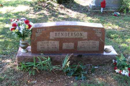 HENDERSON, CLAUDE CLAY - Lawrence County, Arkansas | CLAUDE CLAY HENDERSON - Arkansas Gravestone Photos