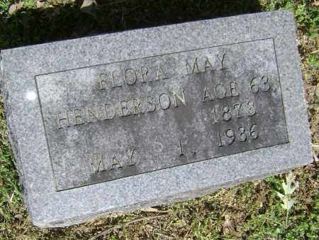 HENDERSON, FLORA MAY - Lawrence County, Arkansas | FLORA MAY HENDERSON - Arkansas Gravestone Photos