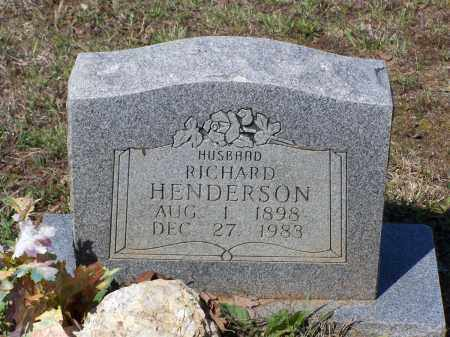 HENDERSON, RICHARD - Lawrence County, Arkansas | RICHARD HENDERSON - Arkansas Gravestone Photos