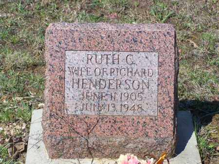 HENDERSON, RUTH CARLTON - Lawrence County, Arkansas | RUTH CARLTON HENDERSON - Arkansas Gravestone Photos