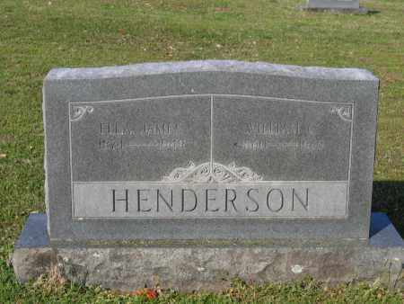 JAMES HENDERSON, ELLA LORENA - Lawrence County, Arkansas | ELLA LORENA JAMES HENDERSON - Arkansas Gravestone Photos