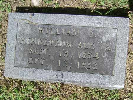 HENDERSON, WILLIAM S - Lawrence County, Arkansas | WILLIAM S HENDERSON - Arkansas Gravestone Photos