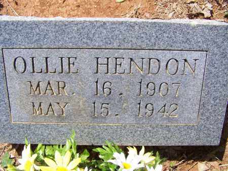 HENDON, OLLIE - Lawrence County, Arkansas | OLLIE HENDON - Arkansas Gravestone Photos