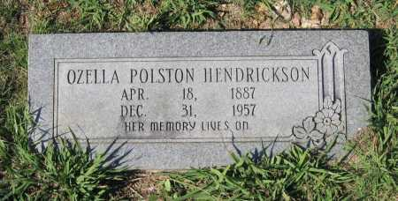 HENDRICKSON, OZELLA - Lawrence County, Arkansas | OZELLA HENDRICKSON - Arkansas Gravestone Photos