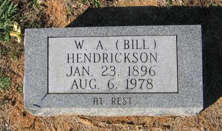 "HENDRICKSON, WILLIAM A. ""BILL"" - Lawrence County, Arkansas 