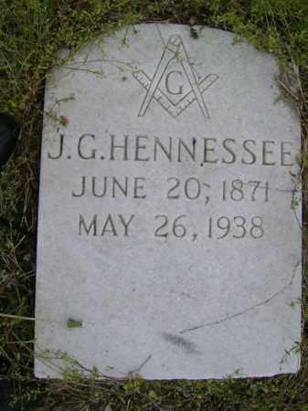 HENNESSEE, JOSEPH G. - Lawrence County, Arkansas | JOSEPH G. HENNESSEE - Arkansas Gravestone Photos