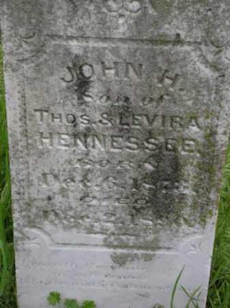 HENNESSEE, JOHN H, - Lawrence County, Arkansas | JOHN H, HENNESSEE - Arkansas Gravestone Photos