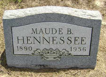 HENNESSEE, MAUDE B. - Lawrence County, Arkansas | MAUDE B. HENNESSEE - Arkansas Gravestone Photos