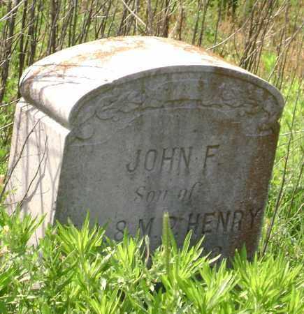 HENRY, JOHN F. - Lawrence County, Arkansas | JOHN F. HENRY - Arkansas Gravestone Photos