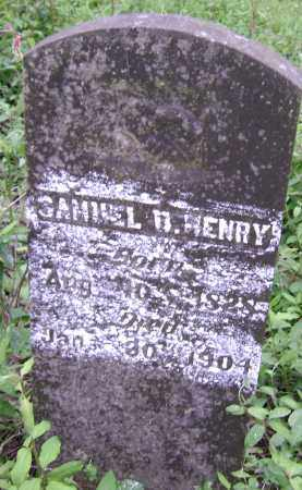 HENRY, SAMUEL D. - Lawrence County, Arkansas | SAMUEL D. HENRY - Arkansas Gravestone Photos