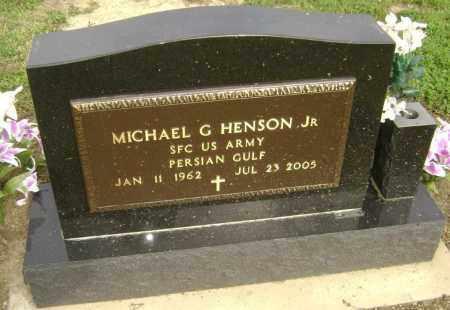 HENSON, JR  (VETERAN PGW), MICHAEL GENE - Lawrence County, Arkansas | MICHAEL GENE HENSON, JR  (VETERAN PGW) - Arkansas Gravestone Photos