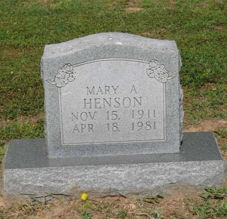 HENSON, MARY ALICE - Lawrence County, Arkansas | MARY ALICE HENSON - Arkansas Gravestone Photos