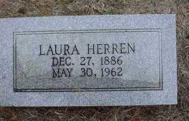 BROWN HERREN, LAURA VIOLA - Lawrence County, Arkansas | LAURA VIOLA BROWN HERREN - Arkansas Gravestone Photos