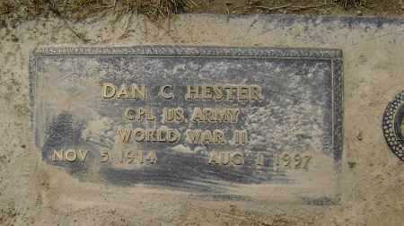 "HESTER  (VETERAN WWII), DAN CURTIS ""BUCK"" - Lawrence County, Arkansas 