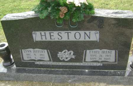 HESTON, ETHEL IRENE - Lawrence County, Arkansas | ETHEL IRENE HESTON - Arkansas Gravestone Photos