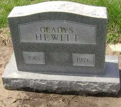 HEWITT, GLADYS - Lawrence County, Arkansas | GLADYS HEWITT - Arkansas Gravestone Photos