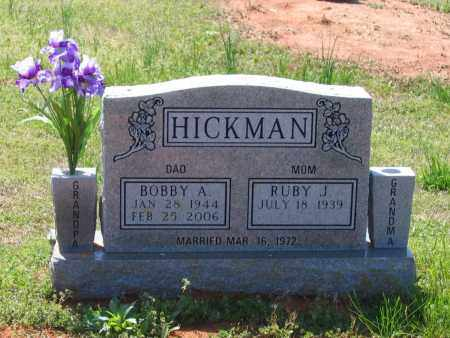 HICKMAN, BOBBY ALLEN - Lawrence County, Arkansas | BOBBY ALLEN HICKMAN - Arkansas Gravestone Photos