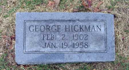 HICKMAN, GEORGE - Lawrence County, Arkansas | GEORGE HICKMAN - Arkansas Gravestone Photos