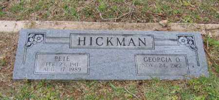 HICKMAN, PETE - Lawrence County, Arkansas | PETE HICKMAN - Arkansas Gravestone Photos