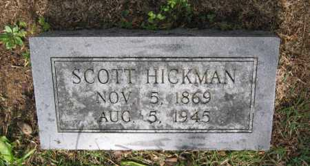 HICKMAN, SCOTT - Lawrence County, Arkansas | SCOTT HICKMAN - Arkansas Gravestone Photos