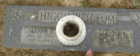 HIGGINBOTTOM, MATTIE E. - Lawrence County, Arkansas | MATTIE E. HIGGINBOTTOM - Arkansas Gravestone Photos