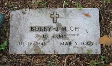 HIGH (VETERAN), BOBBY J - Lawrence County, Arkansas | BOBBY J HIGH (VETERAN) - Arkansas Gravestone Photos