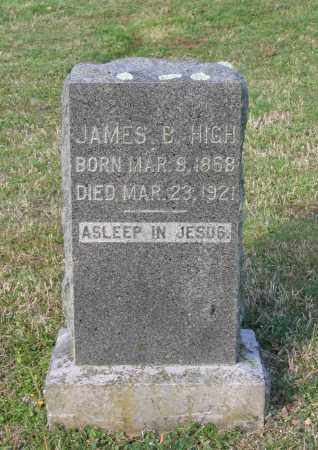 HIGH, JAMES B. - Lawrence County, Arkansas | JAMES B. HIGH - Arkansas Gravestone Photos