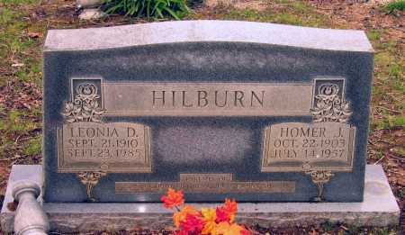 HILBURN, LEONIA DORA - Lawrence County, Arkansas | LEONIA DORA HILBURN - Arkansas Gravestone Photos
