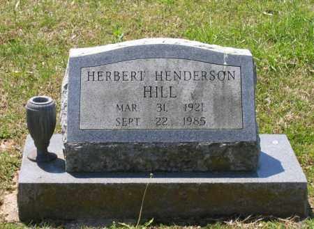 HILL, HERBERT HENDERSON - Lawrence County, Arkansas | HERBERT HENDERSON HILL - Arkansas Gravestone Photos