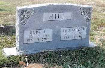 HILL, LEONARD PAUL - Lawrence County, Arkansas | LEONARD PAUL HILL - Arkansas Gravestone Photos