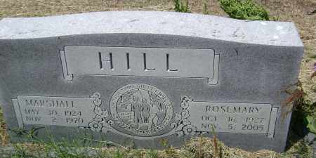 MONTGOMERY HILL, ROSEMARY - Lawrence County, Arkansas | ROSEMARY MONTGOMERY HILL - Arkansas Gravestone Photos