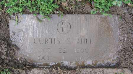 HILL, CURTIS ELMER - Lawrence County, Arkansas | CURTIS ELMER HILL - Arkansas Gravestone Photos