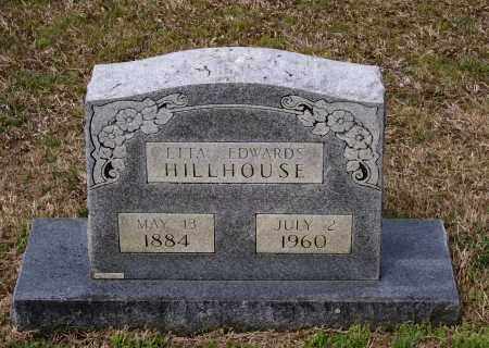 EDWARDS HILLHOUSE, ETTA - Lawrence County, Arkansas | ETTA EDWARDS HILLHOUSE - Arkansas Gravestone Photos