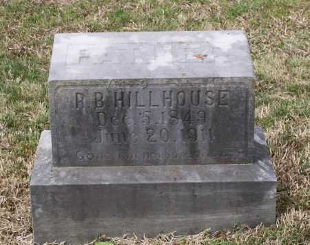 "HILLHOUSE, RUFUS B. ""R. B."" - Lawrence County, Arkansas 