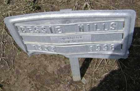 HILLS, BESSIE - Lawrence County, Arkansas | BESSIE HILLS - Arkansas Gravestone Photos