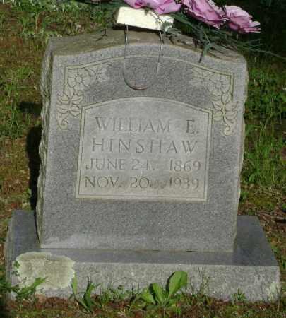 HINSHAW, WILLIAM E. - Lawrence County, Arkansas   WILLIAM E. HINSHAW - Arkansas Gravestone Photos