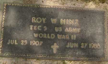 HINZ  (VETERAN WWII), ROY W, - Lawrence County, Arkansas | ROY W, HINZ  (VETERAN WWII) - Arkansas Gravestone Photos