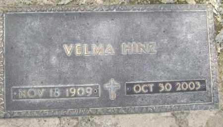 HINZ, VELMA - Lawrence County, Arkansas | VELMA HINZ - Arkansas Gravestone Photos