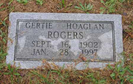 TOLES HOAGLAN, GERTIE - Lawrence County, Arkansas | GERTIE TOLES HOAGLAN - Arkansas Gravestone Photos