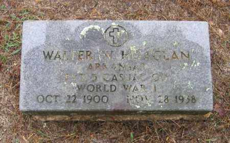 HOAGLAN (VETERAN WWI), WALTER W - Lawrence County, Arkansas | WALTER W HOAGLAN (VETERAN WWI) - Arkansas Gravestone Photos