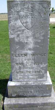HODGE, ELLEN - Lawrence County, Arkansas | ELLEN HODGE - Arkansas Gravestone Photos
