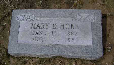 HOKE, MARY E. - Lawrence County, Arkansas | MARY E. HOKE - Arkansas Gravestone Photos