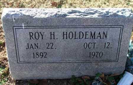 HOLDEMAN, ROY HAROLD - Lawrence County, Arkansas | ROY HAROLD HOLDEMAN - Arkansas Gravestone Photos
