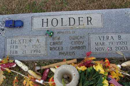 HOLDER, DEXTER A. - Lawrence County, Arkansas | DEXTER A. HOLDER - Arkansas Gravestone Photos