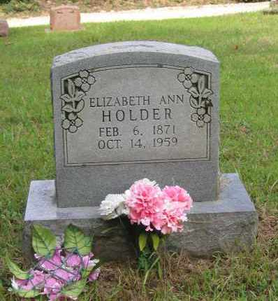 "BOTTOMS HOLDER, ELIZABETH ANN ""LIZZIE"" - Lawrence County, Arkansas 