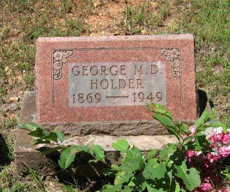 HOLDER, GEORGE M. D. - Lawrence County, Arkansas | GEORGE M. D. HOLDER - Arkansas Gravestone Photos